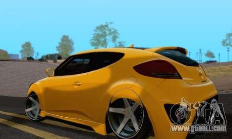 Hyundai Veloster for GTA San Andreas left view
