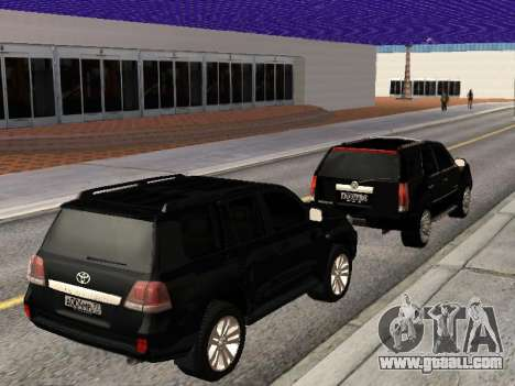 Cadillac Escalade 2010 for GTA San Andreas inner view