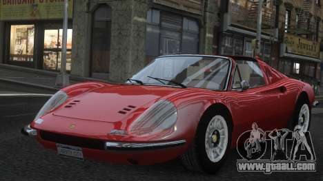 Ferrari Dino 246 GTS for GTA 4 bottom view