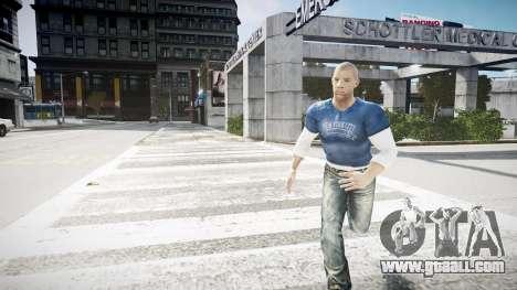 Vin Diesel Wheelman for GTA 4 second screenshot