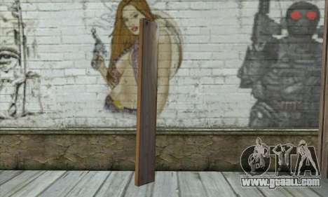 Wooden boards for GTA San Andreas