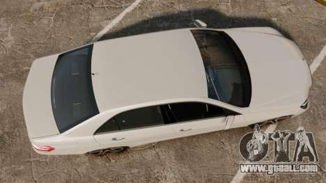 Mercedes-Benz E63 AMG 2014 v2.0 for GTA 4 right view