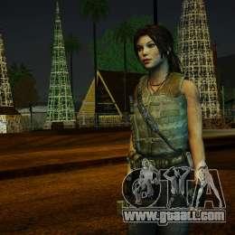 Tomb Raider Lara Croft Guerilla Outfit pour GTA San Andreas