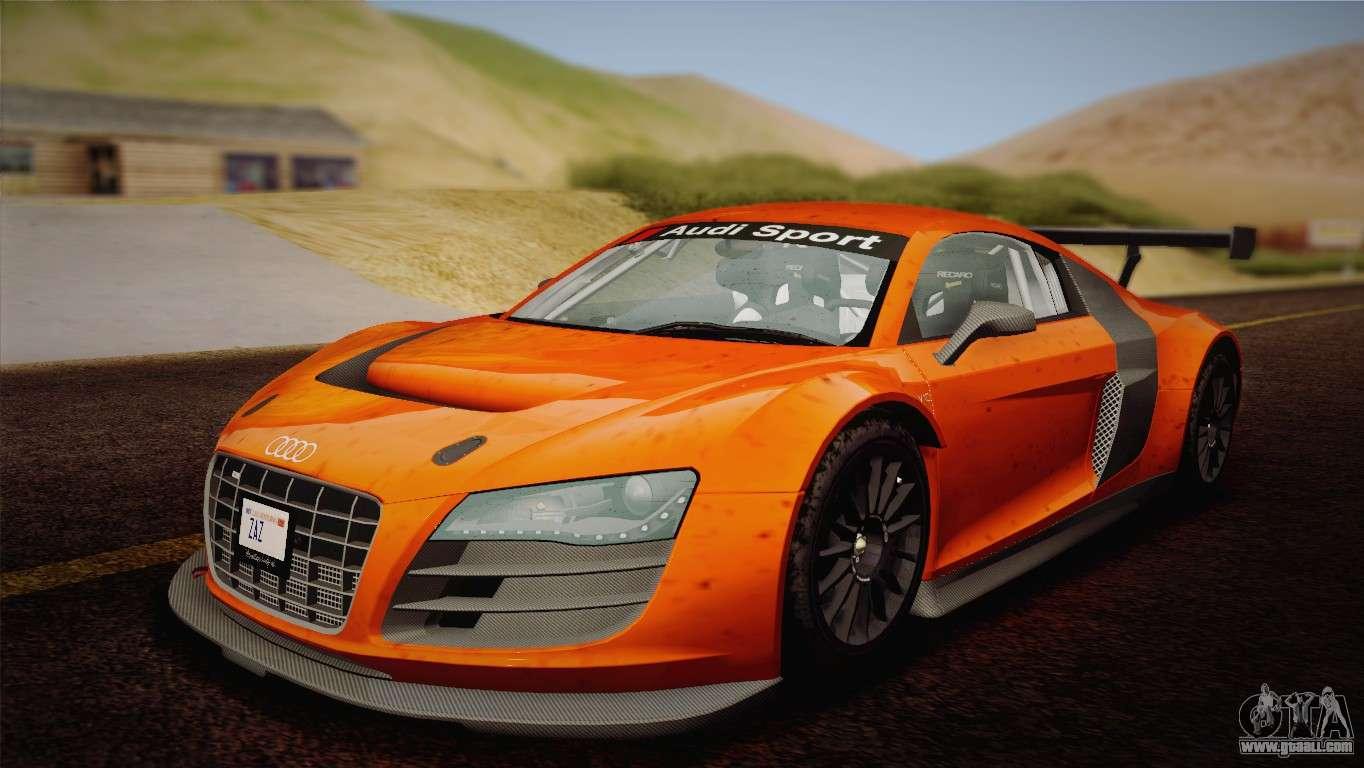 Audi R8 Lms V2 0 4 Dr For Gta San Andreas