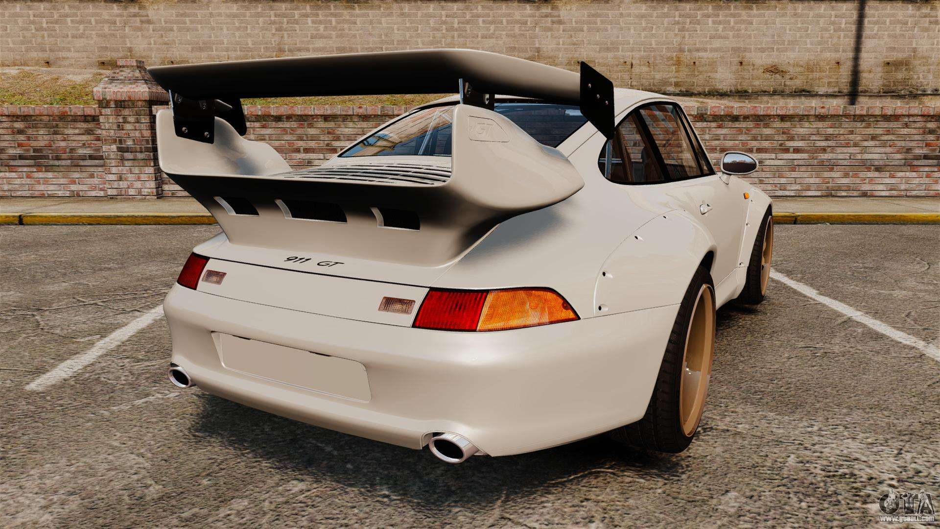 porsche 993 gt2 1996 v1 3 for gta 4. Black Bedroom Furniture Sets. Home Design Ideas