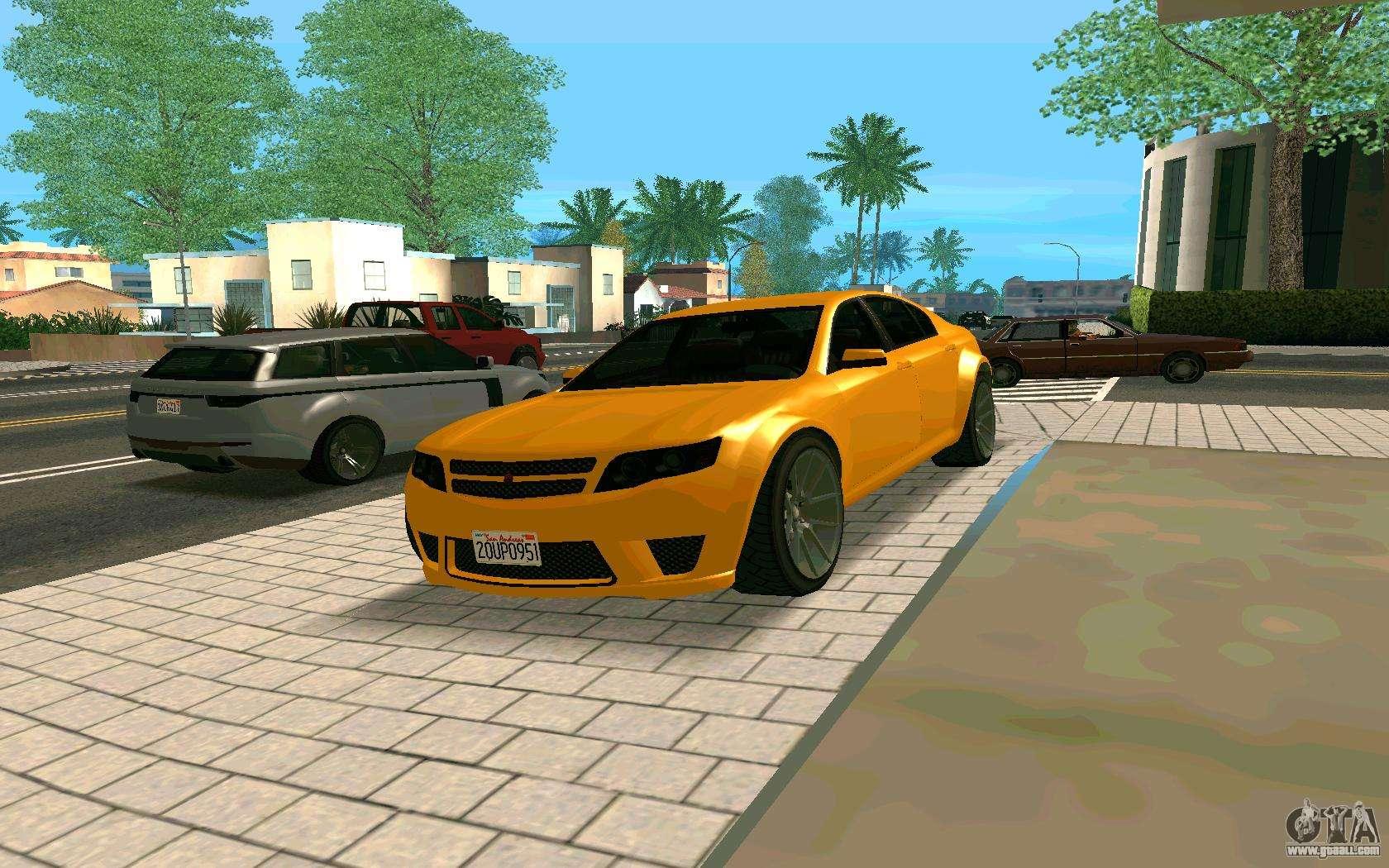 GTA V Fugitive Version 2 FIXED for GTA San Andreas