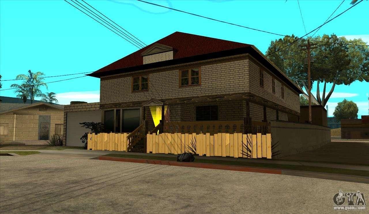 Modern house of sijia v1 0 for gta san andreas for Casa moderna gta sa