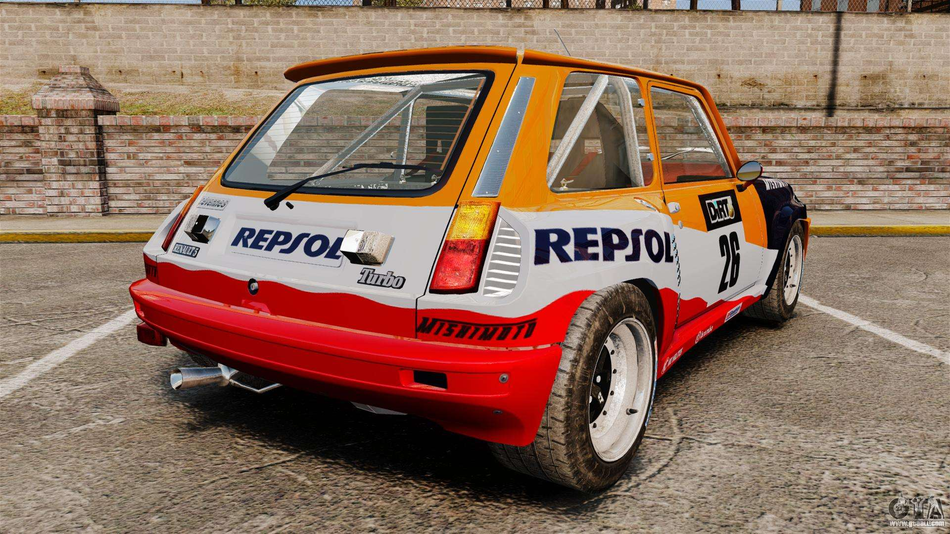 renault 5 maxi turbo for gta 4. Black Bedroom Furniture Sets. Home Design Ideas