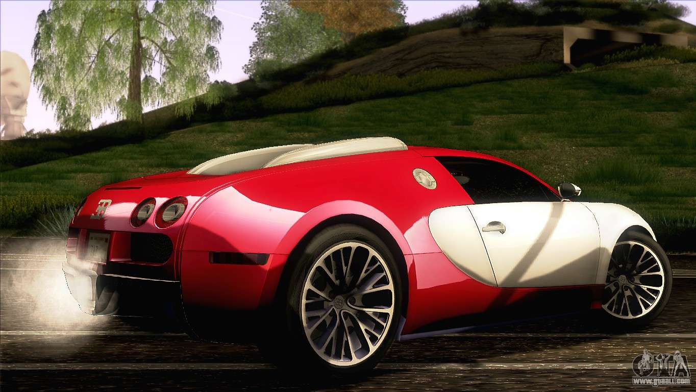 bugatti veyron 16 4 for gta san andreas. Black Bedroom Furniture Sets. Home Design Ideas