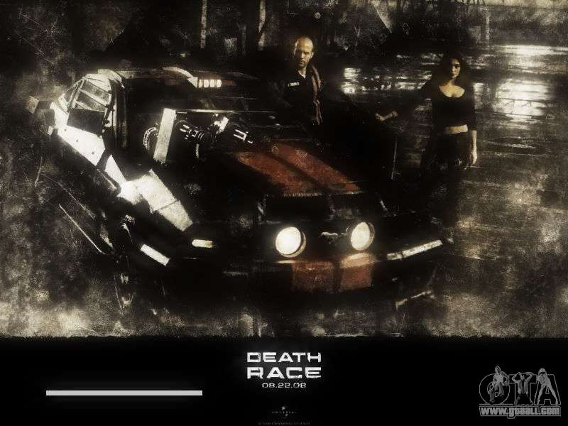 Boot Screens Death Race For Gta San Andreas