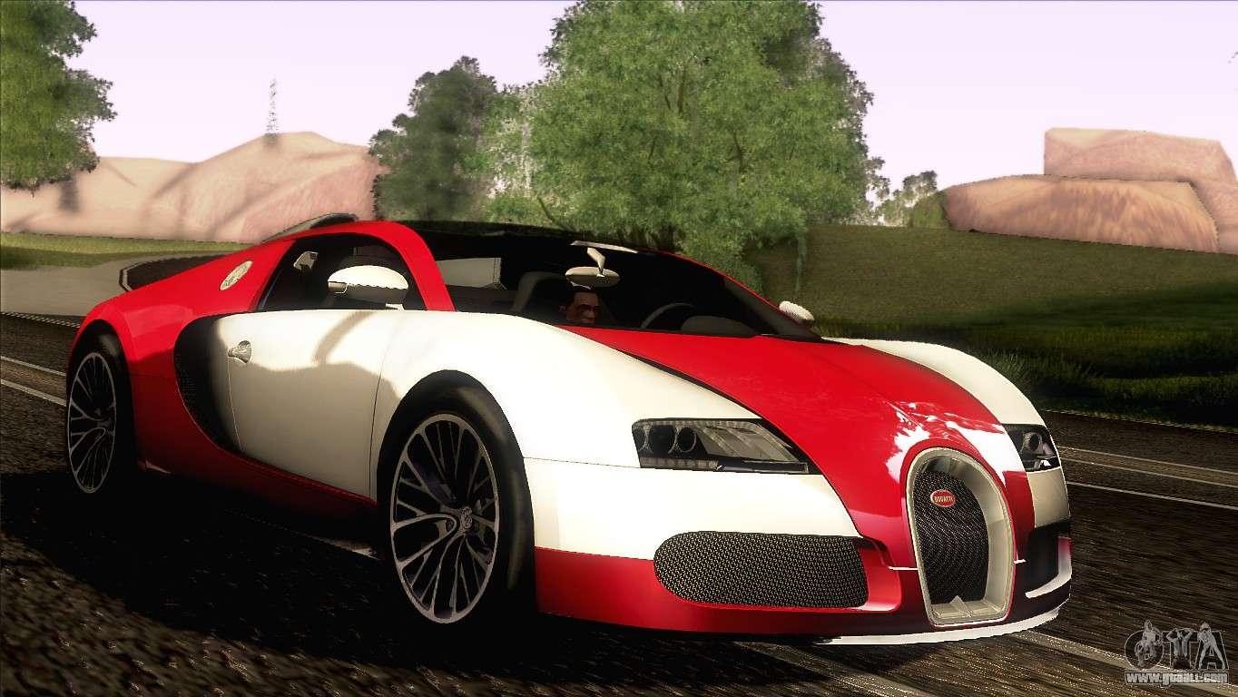 bugatti veyron 16 4 for gta san andreas. Black Bedroom Furniture Sets. Home Design Ideas