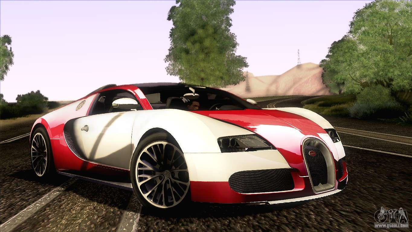 Bugatti Veyron 16 4 For Gta San Andreas