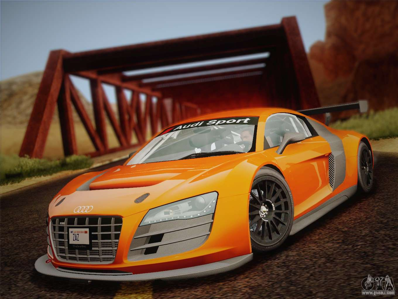 Audi R8 Lms V2 0 4 Dr For Gta San Andreas