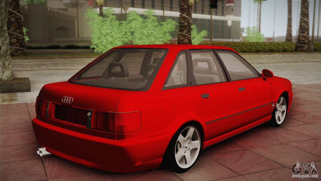 audi 80 b4 rs2 for gta san andreas. Black Bedroom Furniture Sets. Home Design Ideas