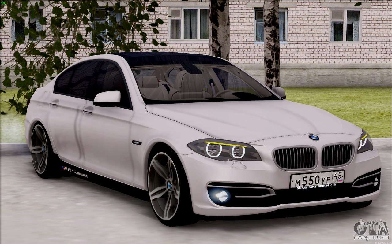 bmw 550 f10 xdrive for gta san andreas. Black Bedroom Furniture Sets. Home Design Ideas
