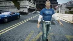 Vin Diesel Wheelman for GTA 4