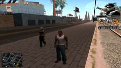 C-Hud Eazy-E for GTA San Andreas