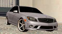 Mercedes-Benz C63 седан for GTA San Andreas