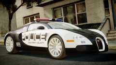 Bugatti Veyron 16.4 Police NFS Hot Pursuit for GTA 4