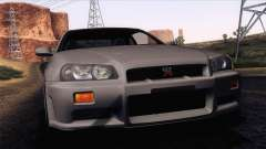 Nissan Skyline GT-R R34 V-Spec Lexani Rims