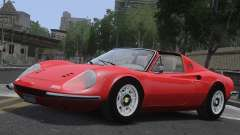 Ferrari Dino 246 GTS for GTA 4