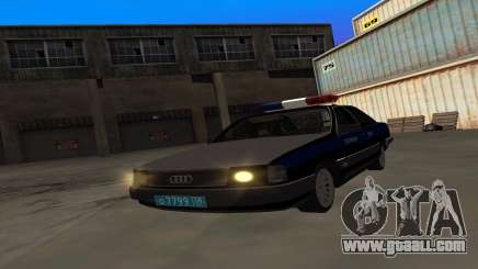 Audi 100 Police Department for GTA San Andreas