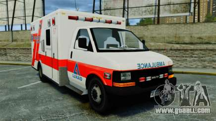 Brute Luxaid Ambulance [ELS] for GTA 4