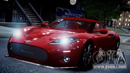 Spyker C8 Aileron Spyder v2.0 for GTA 4