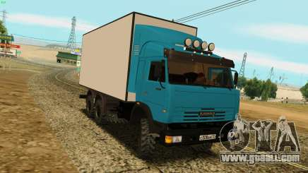 KamAZ 4310 for GTA San Andreas
