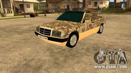 Mercedes-Benz 190E Army for GTA San Andreas