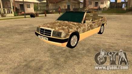 Mercedes-Benz 190E Army for GTA San Andreas
