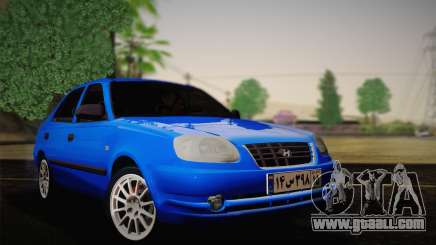 Hyundai Accent Admire 2004 for GTA San Andreas