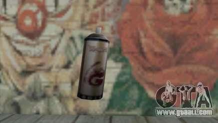 Montana Gold Spray for GTA San Andreas