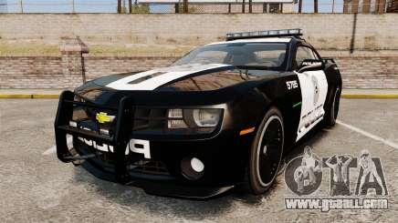 Chevrolet Camaro Police [ELS-EPM] for GTA 4