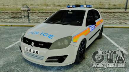 Vauxhall Astra Metropolitan Police [ELS] for GTA 4