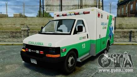 Brute GQ Med Ambulance [ELS] for GTA 4
