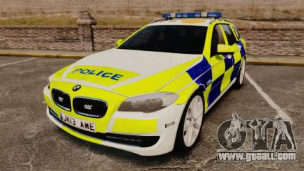 BMW 530d Touring Lancashire Police [ELS] for GTA 4