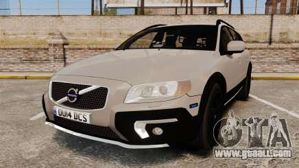 Volvo XC70 2014 Unmarked Police [ELS] for GTA 4