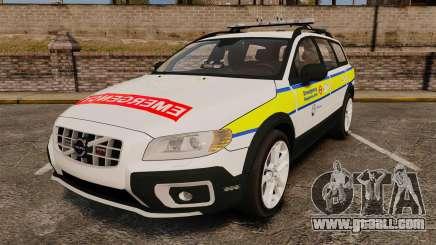 Volvo XC70 Emergency Response Unit [ELS] for GTA 4
