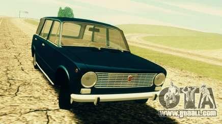 Fiat 124 Familiare for GTA San Andreas