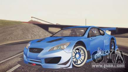 Hyundai Genesis Coupe 2010 Tuned for GTA San Andreas