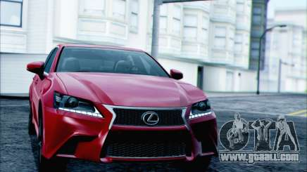 Lexus GS250 F Sport 2013 for GTA San Andreas