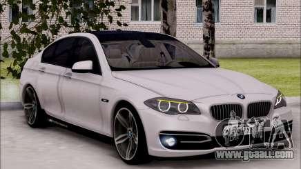 BMW 550 F10 xDrive for GTA San Andreas