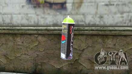 Montana Nitro Spray for GTA San Andreas