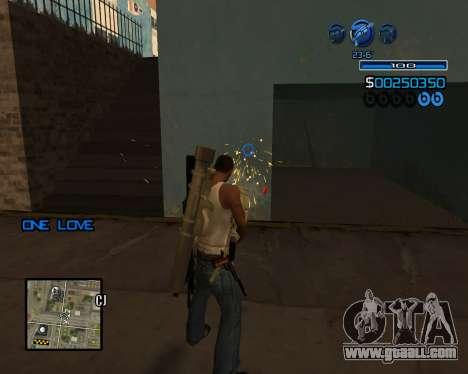 C-HUD Minimal for GTA San Andreas forth screenshot