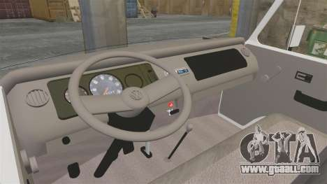 Volkswagen Kombi 1999 for GTA 4 back view