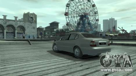 Daewoo Leganza for GTA 4 back left view