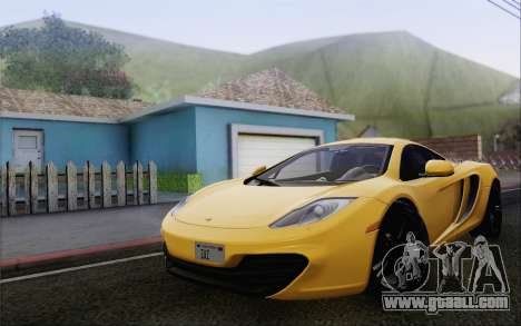 McLaren MP4-12C for GTA San Andreas right view