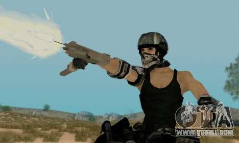 SWAT GIRL for GTA San Andreas third screenshot