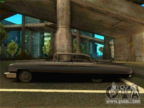 Cadillac Stella 1959 for GTA San Andreas left view